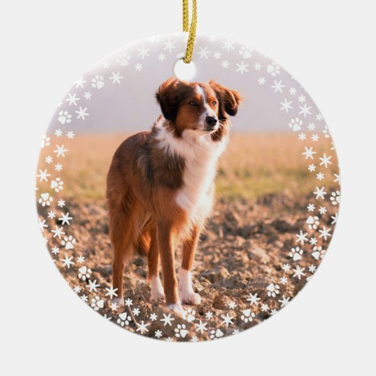 Pet Memorial Christmas Holiday Ornament | Zazzle.com