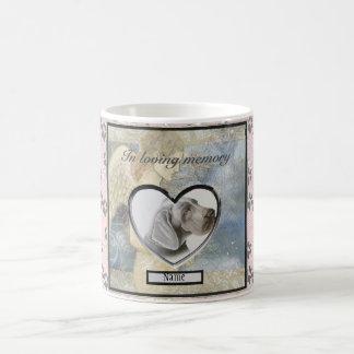 Pet Memorial Gift Angel Personalized Coffee Mug