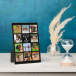 """Pet Memorial Gift   In Loving Memory Photo Plaque<br><div class=""""desc"""">Personalized pet memorial photo plaque featuring 11 photos of your beloved animal,  a sweet saying,  their name and the dates.</div>"""