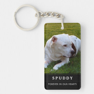 Pet Memorial KeyChain - God's Garden Poem