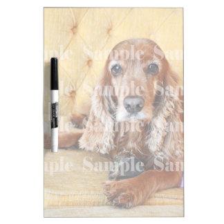 Pet memorial memory / PERSONALIZE photo Dry-Erase Board