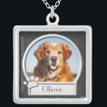 "Pet Memorial Pendant Necklace<br><div class=""desc"">Pet memorial pendant necklace,  perfect for remembering your beloved pet.</div>"