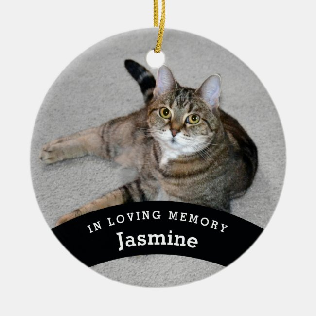 Pet Memorial Personalized Add Name and Photo