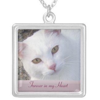 Pet Memorial Photo Necklace necklace