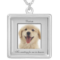 Pet Memorial Photo Necklace
