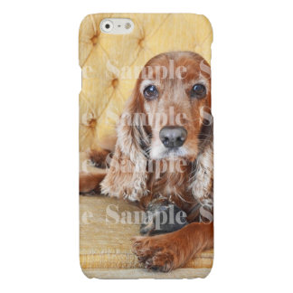 Pet memorial photo PERSONALIZE Glossy iPhone 6 Case