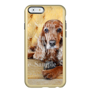 Pet memorial photo PERSONALIZE Incipio Feather Shine iPhone 6 Case