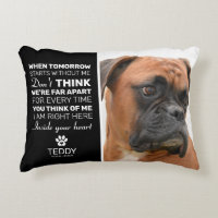 Pet Memorial | Remembrance Dog Keepsake Accent Pillow