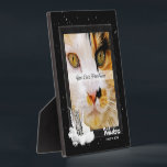 """Pet Memorial Tabby Cat Silver Stripes Photo Plaque<br><div class=""""desc"""">Three sizes available shown is 5x5. We have a square 5x7 and an 8x10 in our store as well. When we lose a cat it&#39;s like losing a member of the family and we need to mourn and remember that pet as we do any loved one we&#39;ve lost. The artist,...</div>"""