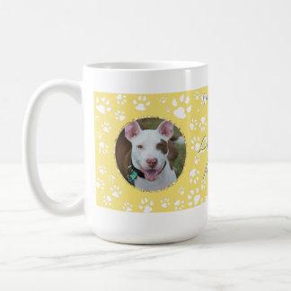 Pet Memorial Your Dog Photos Yellow Coffee Mug