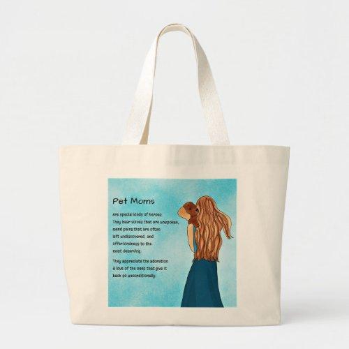 Pet Mom Tote Bag