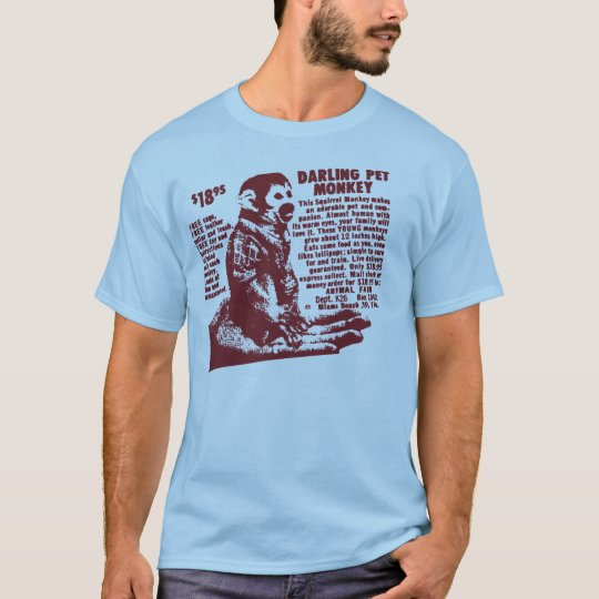 Pet Monkey T-Shirt