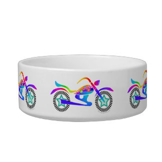 Pet OR SNACK! Bowl Pop Art MOTORCYCLE