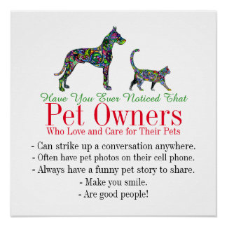Pet Owners - Poster - srf