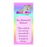 Pet Pal Rack Card Template