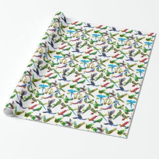 Pet Parrots Galore Wrapping Paper