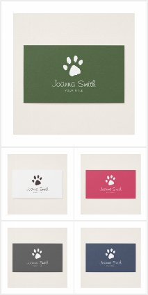 Pet grooming business cards veterinary clinic pet sitting dog walking pet paw print pet grooming business cards veterinary clinic pet sitting dog walking colourmoves