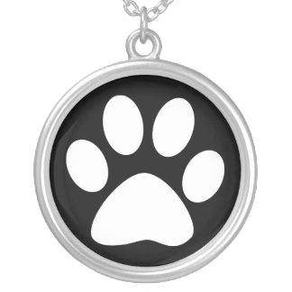 pet paws necklace
