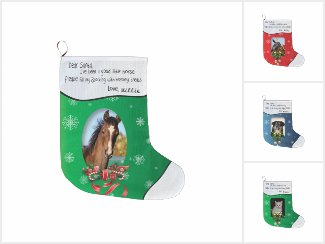 Pet Photo Christmas Stocking