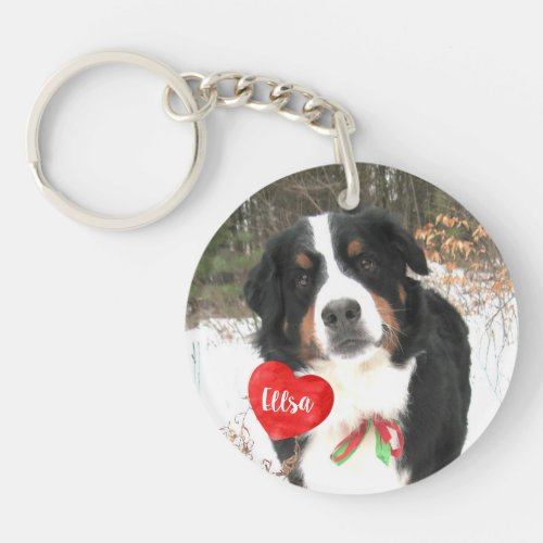 Pet Photo Gifts _ Cat Memorial _ Dog Memorial Keychain