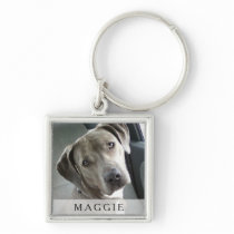 Pet Photo Keychain - Square