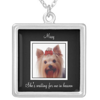 Pet Photo Memorial Necklace