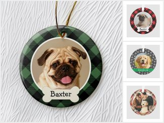 Pet Photo Ornaments | Holiday Collection