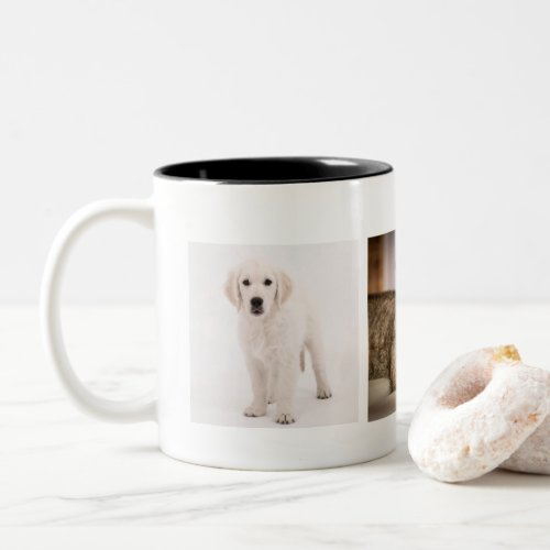 Pet photo personalized Two_Tone coffee mug