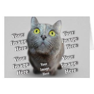 Pet Photo Template Card