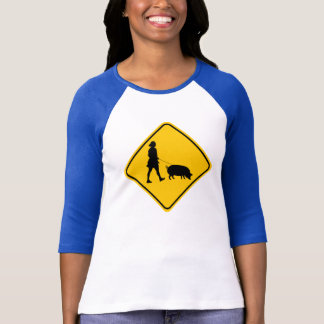 Pet Pig Crossing T-Shirt