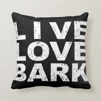 """Pet  pillows """"Live Love Bark"""""""