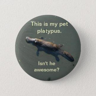 Pet Platypus Button