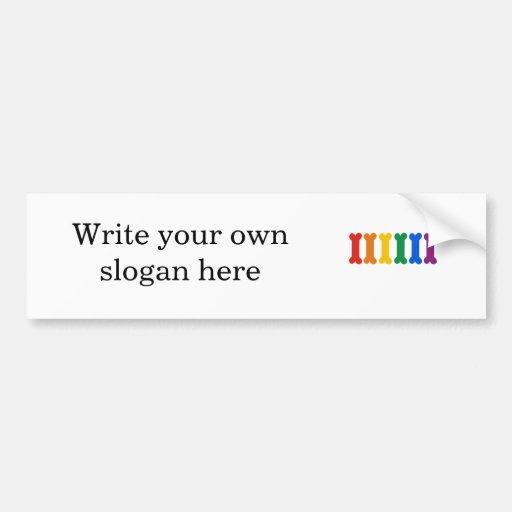 Pet Pride Car Bumper Sticker