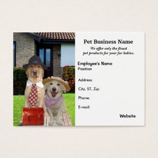 Pet Products & Businesses Business Card