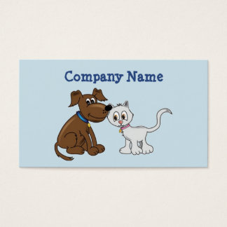 Pet Products & Services Business Card