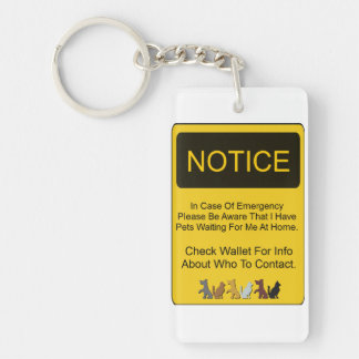 Pet Protection Keychain