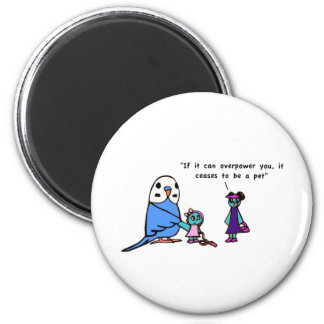 Pet Proverb 2 Inch Round Magnet