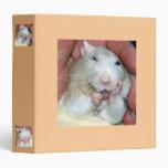 Pet Rat Bridget Binder