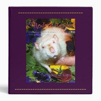 Pet Rat Nehemiah Binder -- 1.5 Inch Width