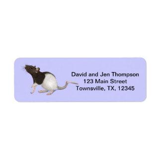 Pet Rat Painting Label