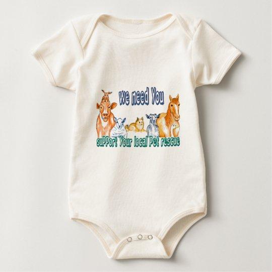 Pet Rescue Baby Bodysuit