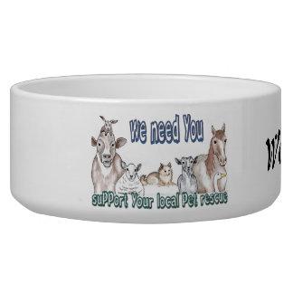 Pet Rescue Bowl