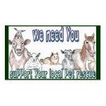 Pet Rescue Business Card Templates
