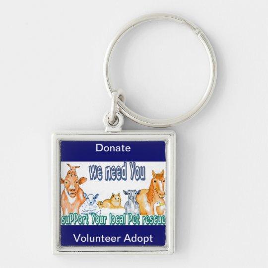Pet Rescue Keychain