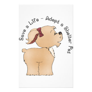 Pet Rescue Stationery