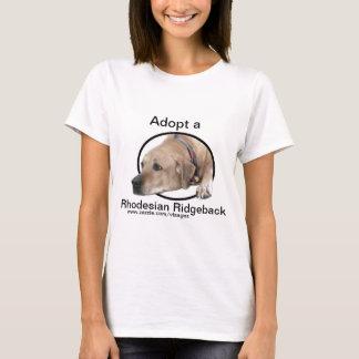 Pet Rhodesian Ridgeback Dog Picture T-Shirt