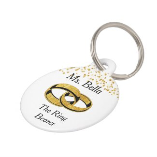 Pet Ring Bearer Pet ID Tag