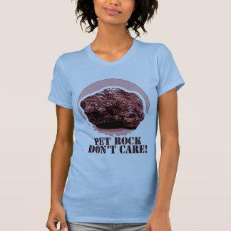 PET ROCK DON'T CARE! Honey Badger spoof T-Shirt