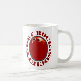 PET ROCK SOCIETY FUNNY KITSCH  1970'S COFFEE MUG