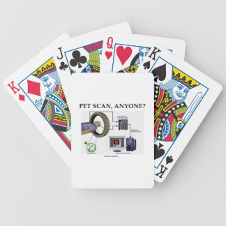 PET Scan, Anyone? (Positron Emission Tomography) Bicycle Playing Cards